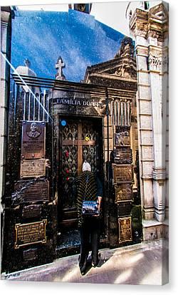Evita Peron's Mausoleum. Canvas Print by Errol Wilson