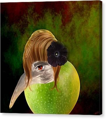 Evolve  Canvas Print by Ally  White