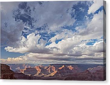 Afternoon Canvas Print - Exceptional Afternoon - Grand Canyon National Park Photograph by Duane Miller