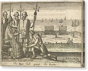 Excommunication Canvas Print by British Library