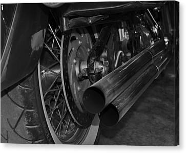 Exhaust Canvas Print by Cherie Haines