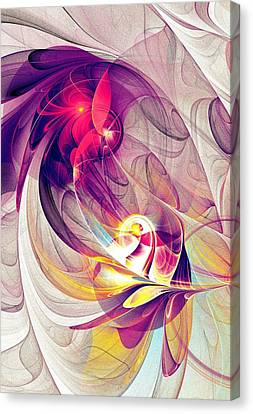 Exhilarated Canvas Print
