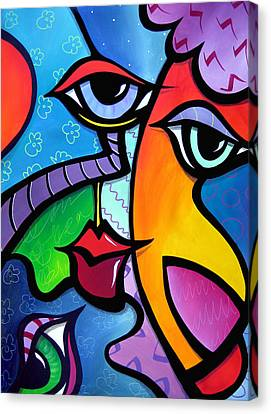 Exhuberant Canvas Print by Tom Fedro - Fidostudio