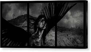 Exile Canvas Print by Cambion Art