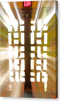 Exit Doors Canvas Print by Stuart Litoff
