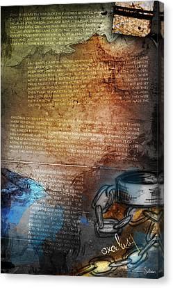Exodus 1 Canvas Print