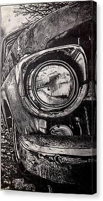 Exotic Car Canvas Print