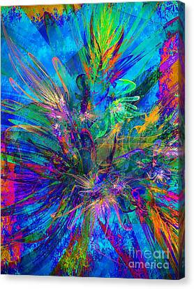Exotic Dream Flower Canvas Print