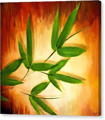 Exotic Grace Canvas Print by Lourry Legarde