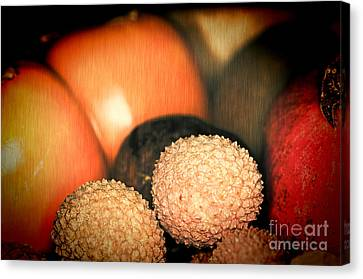 Exotique 3 Canvas Print by Steve Purnell