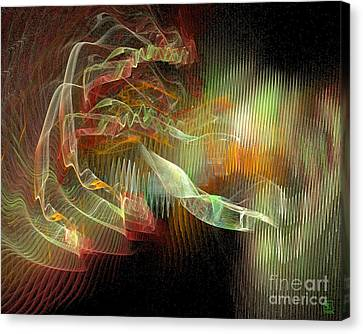 Expanding 1 Canvas Print by Jeanne Liander
