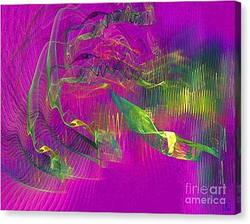 Expanding 3 Canvas Print by Jeanne Liander