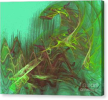 Expanding 4 Canvas Print by Jeanne Liander