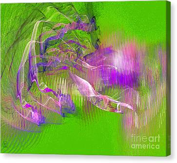 Expanding 6 Canvas Print by Jeanne Liander