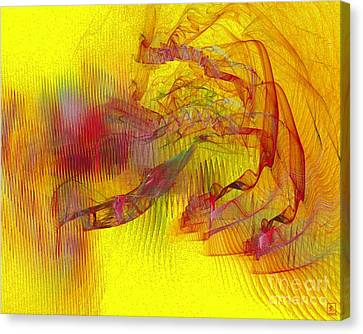 Expanding 9 Canvas Print by Jeanne Liander