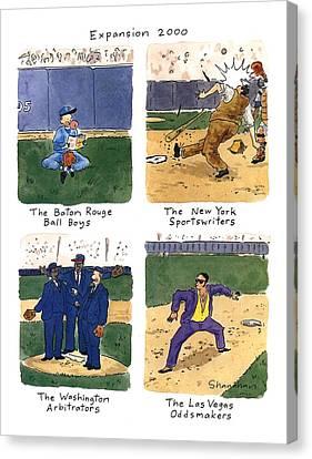 Expansion 2000 Canvas Print