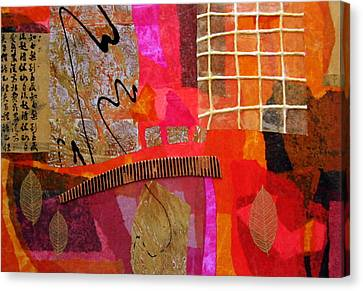 Fuschia Canvas Print - Expectations 1 by Heather Assaf