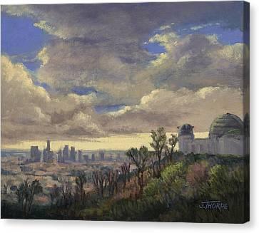 Expecting Rain Canvas Print by Jane Thorpe