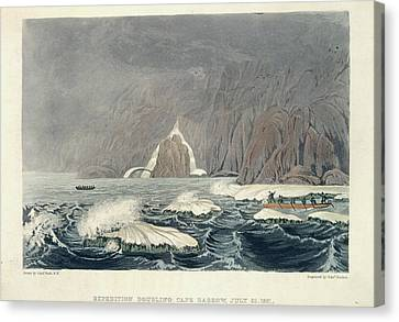 Expedition Doubling Cape Barrow Canvas Print by British Library