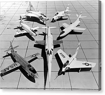 Experimental Aircraft Canvas Print