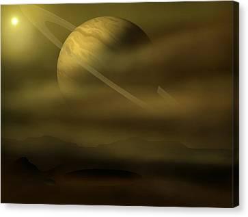 Exploration Canvas Print by Ricky Haug