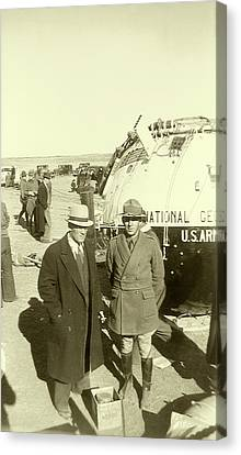 Explorer II High-altitude Balloon Canvas Print by Us National Archives