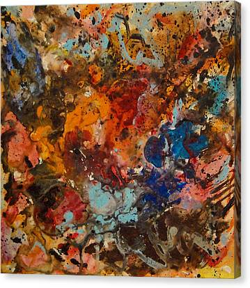 Explosive Chaos Canvas Print by Natalie Holland