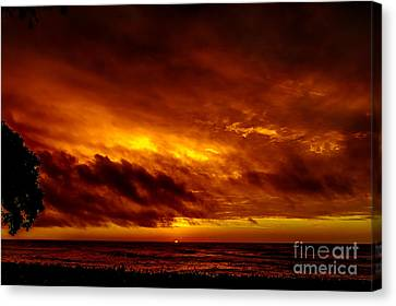 Explosive Morning Canvas Print