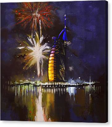 Expo Celebrations Canvas Print by Corporate Art Task Force