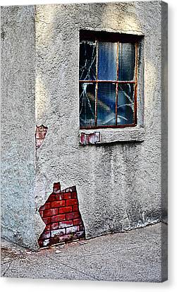 Canvas Print featuring the photograph Exposed Past by Greg Jackson
