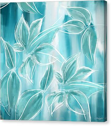 Exquisite Bloom Canvas Print by Lourry Legarde