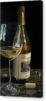 Virginia Wine Canvas Print - Exquisite Taste by Brien Cole