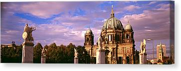 Exterior View Of The Berlin Dome Canvas Print by Panoramic Images