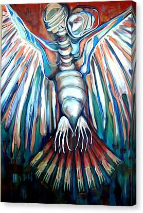 Extinct Species Vii Canvas Print by Irena Mohr