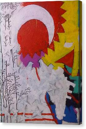 Extraordinary Defacto Canvas Print by Sahid Ahmed