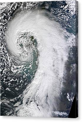 Flooding Canvas Print - Extratropical Cyclone by Nasa Earth Observatory