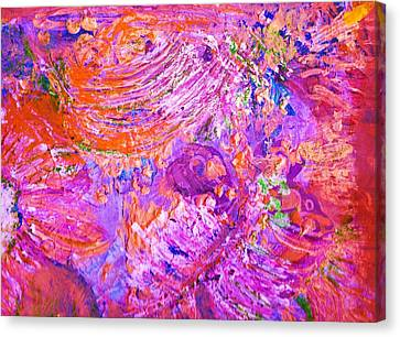 Extravaganza 2 Canvas Print by Anne-Elizabeth Whiteway
