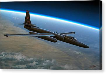 Extreme Altitude Canvas Print by Dale Jackson