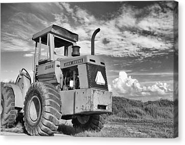 Extreme Equipment Canvas Print by Tom Druin