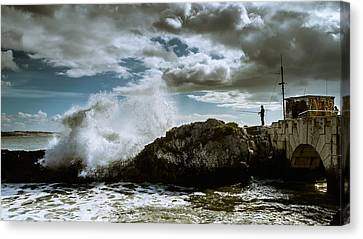 Extreme Fishing Canvas Print