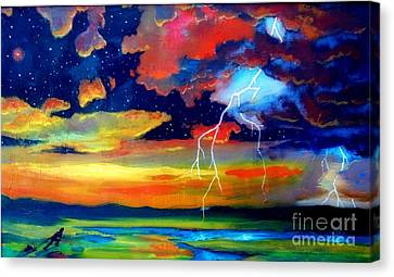 Extreme Weather Canvas Print by John Malone