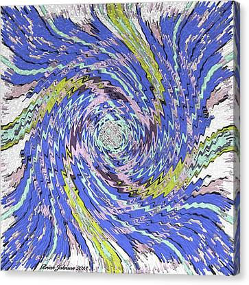 Extruded Twirly Canvas Print