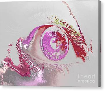 Eye 3 Canvas Print by Soumya Bouchachi