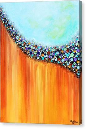 Modern Art Canvas Print - Eye Candy by Christine Krainock