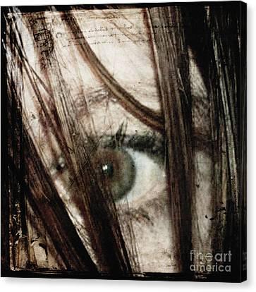 Eye-dentify Canvas Print by Sharon Coty