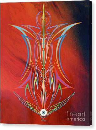 Eye Flying Canvas Print