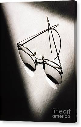 Eye Glasses Canvas Print by Tony Cordoza