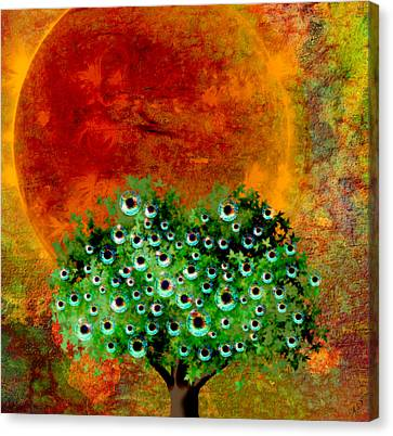 Eye Like Apples Canvas Print by Ally  White