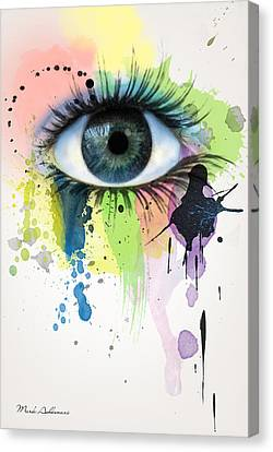 eye Canvas Print by Mark Ashkenazi