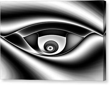 Eye Of A Stranger No. 1 Canvas Print by Mark Eggleston